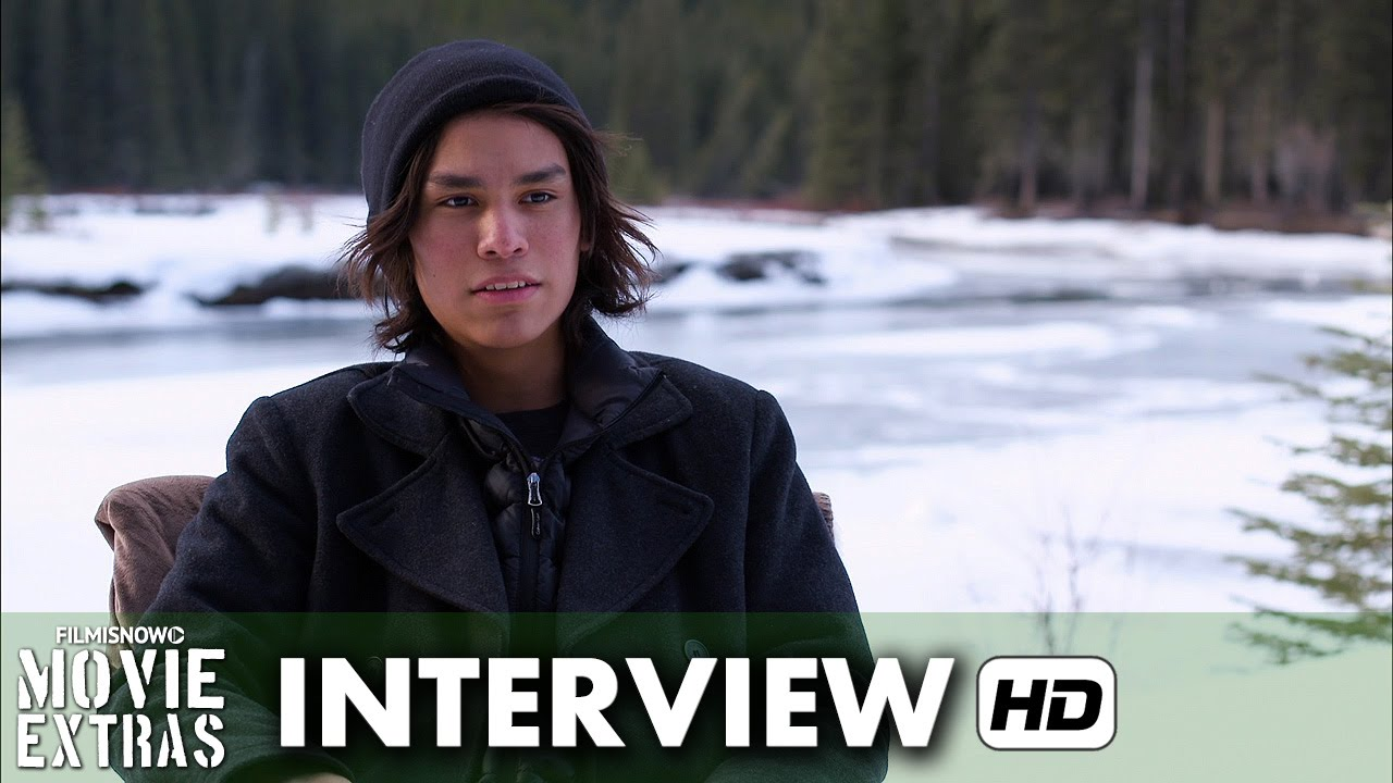 The Revenant (2015) Behind the Scenes Movie Interview - Forrest Goodluck is 'Hawk'