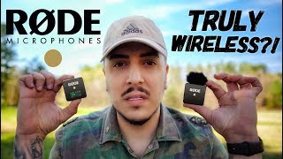 RODE Wireless GO - IT'S A GAME CHANGER!