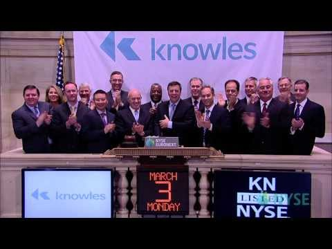 Knowles Corporation Celebrates Listing on NYSE