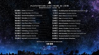 PlayStation Live From E3 Day 2