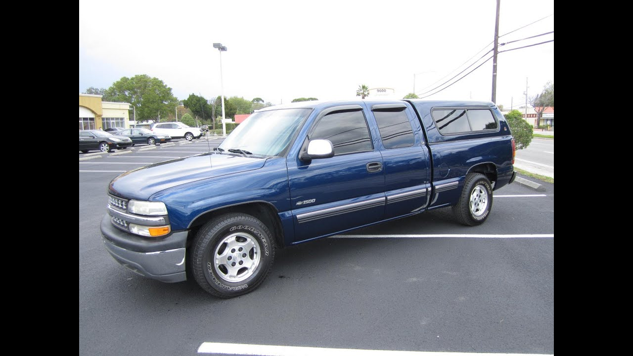 sold 2001 chevrolet silverado 1500 ls ext meticulous. Black Bedroom Furniture Sets. Home Design Ideas
