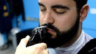 Barber Shop ASMR - Head massage, Shaving, Straight Razor, Water sounds Spanish Barber