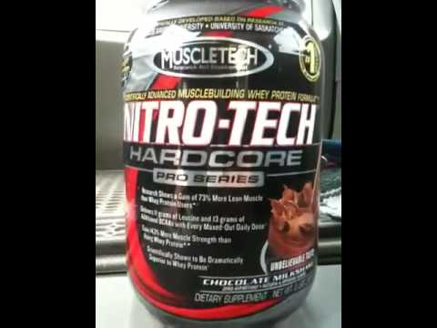 MuscleTech NITRO-TECH Hardcore Pro Series Reviews