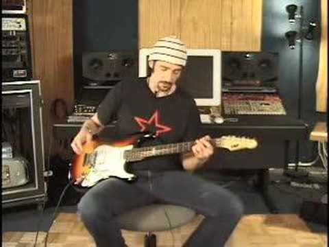 Bruce Kulick Demonstrating His Pedal Board