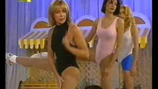 Aerobics in greek tv