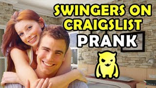 Swingers on Craigslist Prank - Ownage Pranks