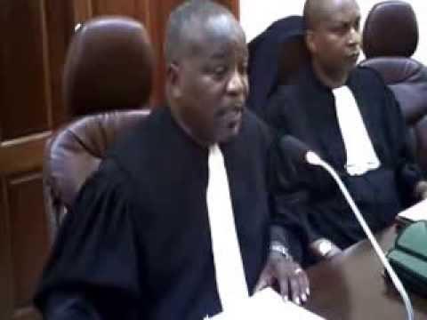 Réaction du Barreau de Kinshasa/Gombe sur l'arrestation brutale et torture de Maitre eric bamanayi 1