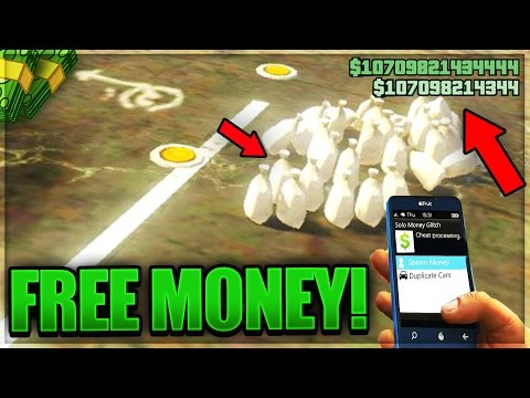 HOW TO GET A FREE MONEY DROP IN GTA 5 ONLINE (UNLIMITED MONEY HACK!!)