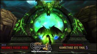 """Guía de Brujo """"Fuego Verde"""" - Tras la Cosecha Oscura 5: Kanrethad jefe final"""