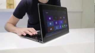 ASUS Taichi dual screen Windows 8 notebook - Computex 2012