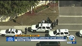 Kidnapping suspect arrested after chase