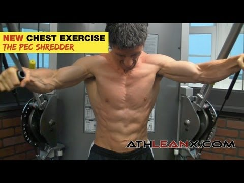 "Crazy Chest Exercise - Dreaded ""PEC SHREDDER"" Chest Exercise"