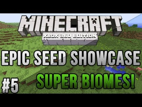 Minecraft Xbox 360/PS3: Super BIOMES! + Strongholds at Spawn!   MCXBLA/PS3 Seeds   Ep. 5