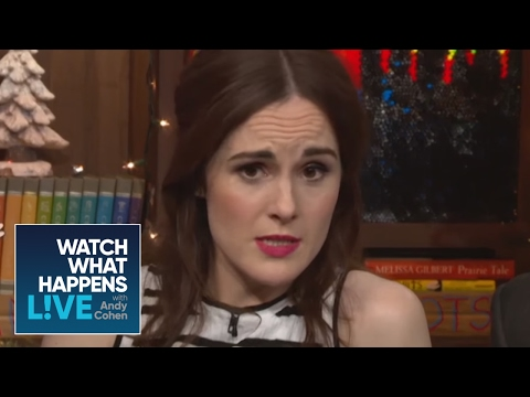 Andy O'Cohen Asks Shady 'Downton Abbey' Questions - WWHL