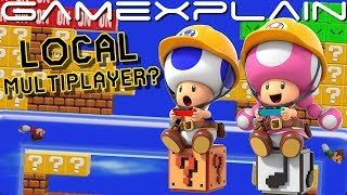 Does Super Mario Maker 2 Have Same-Screen Multiplayer? Possible Proof Found in Direct & eShop!
