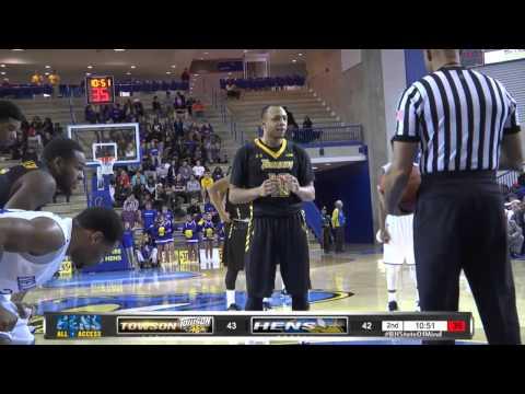 Blue Hens Playback - Men's Basketball vs. Towson (1/14/15)