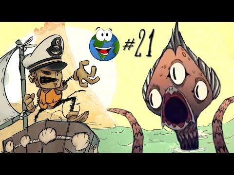 Прохождение Don't Starve Shipwrecked за WX-78 #21 - Вызываю Крампуса и легенда о нём