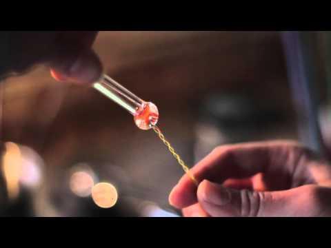 Lampworked Jellyfish Pendant