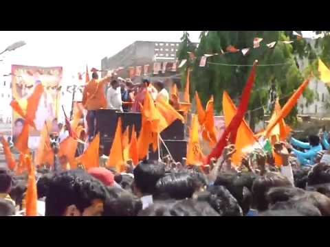 Tarun Sagar  Banayege Mandir Song At Sri Ram Navami 2012 Hyderabad video
