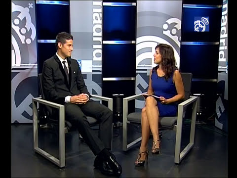 Entrevista de James Rodríguez en Realmadrid TV