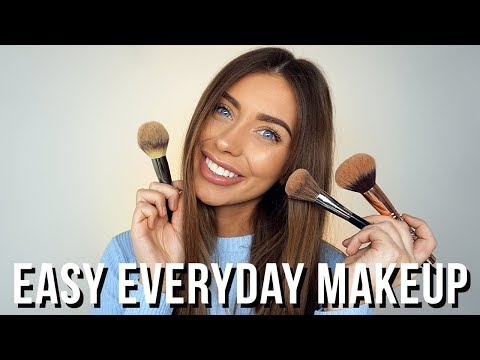Makeup for Beginners: Everyday Makeup Tutorial   Step by Step   Danielle Mansutti