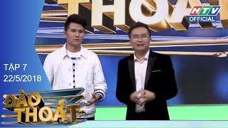"""HTV ĐÀO THOÁT  Hoàng Tôn-Andrea không kịp """"đào thoát""""  DT #7 FULL   22/5/2018"""