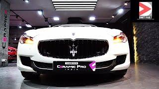 Maserati Quattroporte Walkaround Interior Exterior #Cars@Dinos