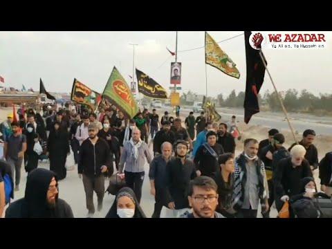 Arbaeen 2019/1441 | Walk Najaf To Karbala| Me Paisdal Chala Karbala