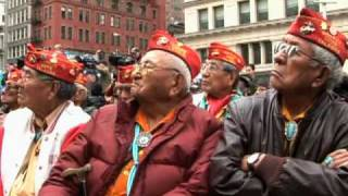 Navajo Code Talkers Honored in New York
