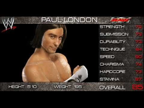WWE Smackdown Vs Raw 2009 Official Roster!! Part 6