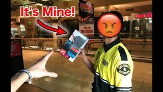 SECURITY STOLE MY NINTENDO SWITCH! *BANNED FROM MALL* | JOYSTICK