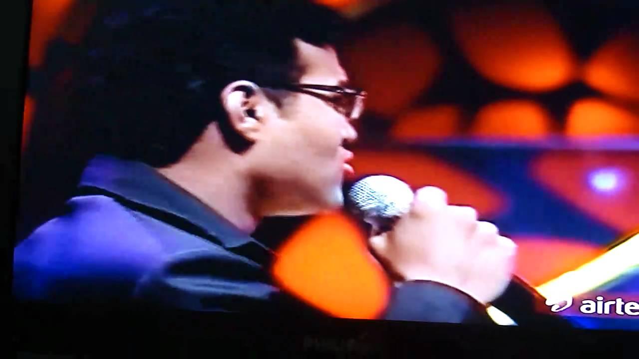 Singer Sathya Prakash Sathya Prakash at Super Singer