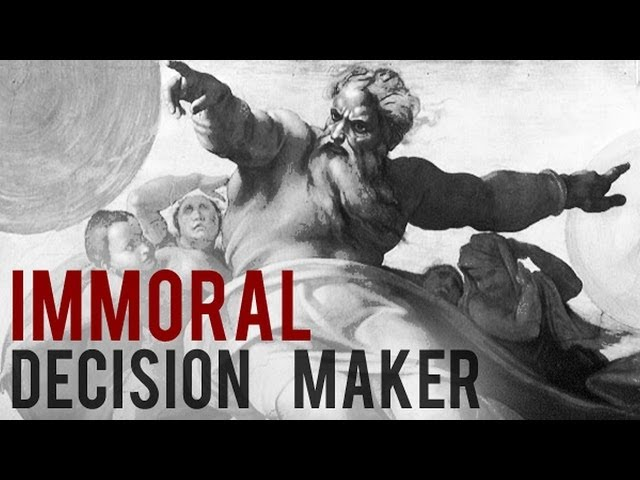 Why Christianity Is Immoral.