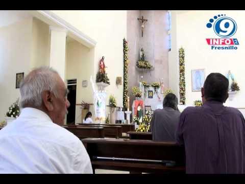Celebran a San judas Tadeo en Fresnillo