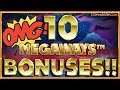 10 Megaways BONUSES!! How Much WILL I WIN??