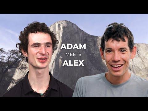 Adam Ondra and Alex Honnold talk   Sport climbing and big walls ...