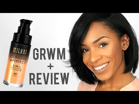 Everyday Makeup GRWM + Milani Foundation Review ▸ VICKYLOGAN