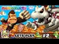 Lets Play MARIO PARTY 10! Dry Bowser Boss Battle in Chaos Cas...
