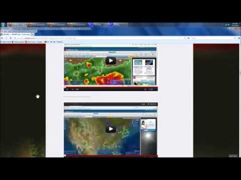 11/5/2012 -- Hurricane Sandy Weather modification -- Frequency Pulses (Michael Janitch)