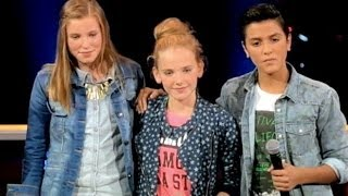 Angel - The battle The Voice Kids - Ayoub, Ieke and Merel  HD