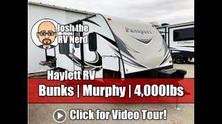 Used Used 2018 Passport 239ML Ultralite Murphy Bed Bunkhouse Outside Kitchen Keystone Travel Trailer
