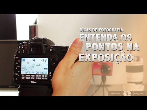 Dicas de Fotografia - Entenda os Pontos na Exposição
