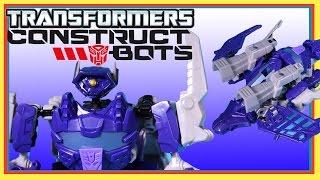 Hasbro Construct Bots Transformers Shockwave 45 piece Construction Playset