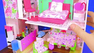 DIY Miniature Dollhouse ~ a Kitchen, Living Room, Bedroom, etc.