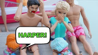 LOL SURPRISE DOLL Harper Goes MISSING And Gets Sucked Into The Ocean!