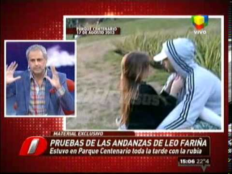 El video de Leo Fariña engañando a Karina Jelinek (Intrusos)
