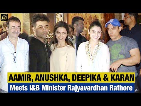 Full Video - Aamir, Deepika, Anushka, Salman, Srk, Karan Johar At The Producers Meet video
