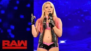 Alexa Bliss crashes Sasha Banks' Raw Women's Title celebration: Raw, Aug. 21, 2017