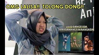 [REACTION!!] PERFORMANCE LISA SOLO DANCE IN BANGKOK THAILAND
