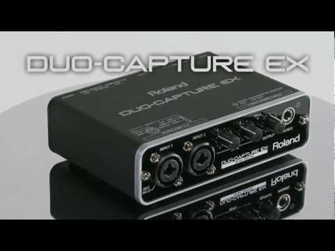 DUO-CAPTURE EX Overview - Roland Connect Sept. 2012